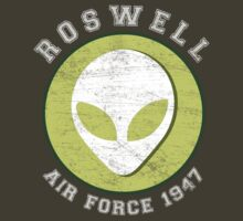 Lucky Alien Roswell Air Force 1947 by shufti