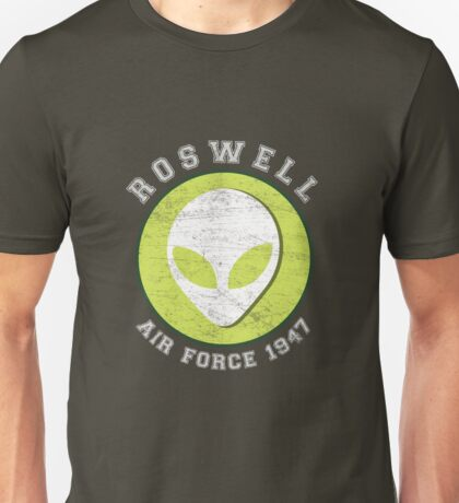 Lucky Alien Roswell Air Force 1947 Unisex T-Shirt