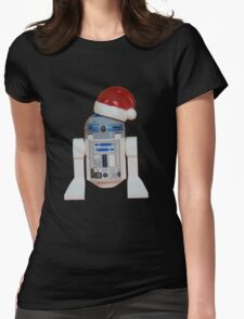 R2-D2 Santa Womens Fitted T-Shirt