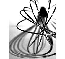 Abstract Kitchen Whisk Photographic Print