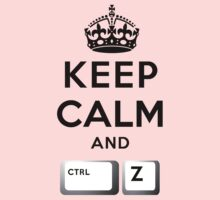 Keep Calm Geeks: Control Z One Piece - Short Sleeve