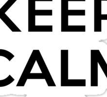 Keep Calm Geeks: Control Z Sticker