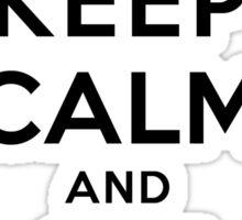 Keep Calm Geeks: Git Revert Sticker