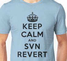 Keep Calm Geeks: SVN Revert Unisex T-Shirt