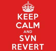 Keep Calm Geeks: SVN Revert One Piece - Short Sleeve