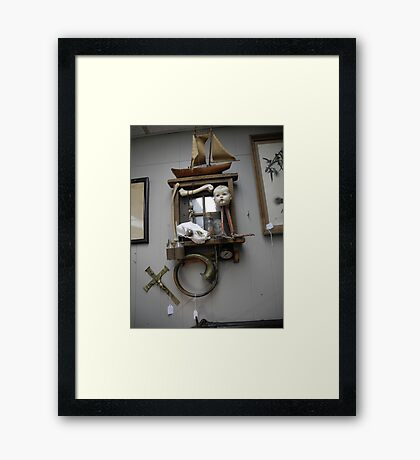 all happening at the zoo VI Framed Print