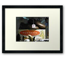 all happening at the zoo XX Framed Print