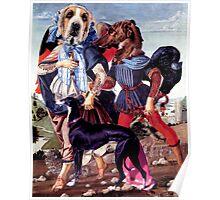 Renaissance Dogs. Poster