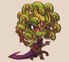 Chibi Medusa by GildedPixel