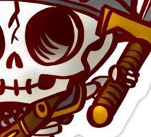 Chibi Skeleton Knight Sticker