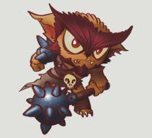Chibi Bear Monster by GildedPixel