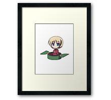 Chibi darjeeling Framed Print