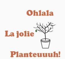 Ohlala La jolie planteuh ! by SBissimus-rex