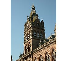 Town Hall Chester UK Photographic Print