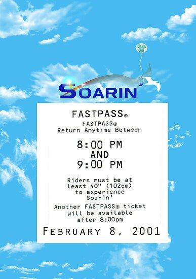 Soarin' FastPass by Margybear