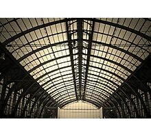 Old train station Antwerp Photographic Print