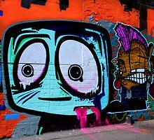 Street Art  - Minns Lane Geelong #2 by bekyimage