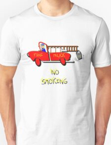 Fire Truck - No Smoking, T-shirt Unisex T-Shirt