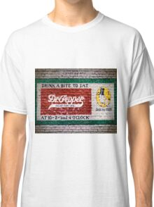 Dr Pepper Good For Life Classic T-Shirt