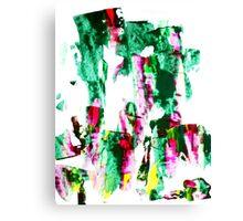 Green Snakes Canvas Print