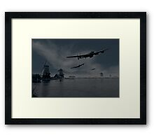 Dambusters first wave Framed Print
