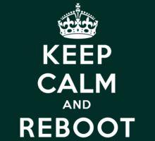 Keep Calm Geeks: Reboot by Ozh !