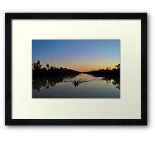 Dreamtime Fishing Framed Print