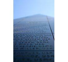 Oxnard Veterans Memorial Photographic Print