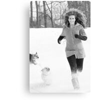 Snow Tag ~ Canvas Print