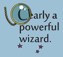 Clearly a Powerful Wizard by Sirkib