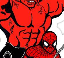 Spiderman-Rulk Sticker