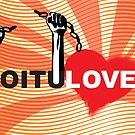 LOVE REVOLUTION graffiti illustration by SFDesignstudio