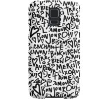 I HEART FRENCH Samsung Galaxy Case/Skin