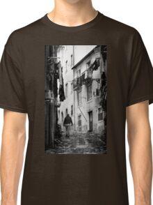 Alfama Life Lisbon Portugal BW Classic T-Shirt