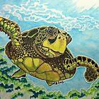 Sea Turtle by ArtbyMinda