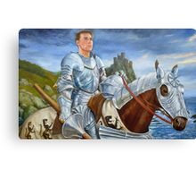 Riding Forth Canvas Print