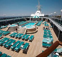 CAPTURE OF THE POOL AREA ON CRYSTAL SERENITY CRUISE SHIP by ╰⊰✿ℒᵒᶹᵉ Bonita✿⊱╮ Lalonde✿⊱╮