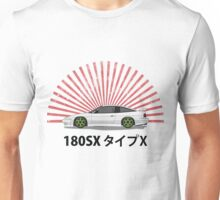 Nissan 180SX - Rising Sun Unisex T-Shirt