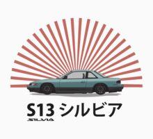 Nissan Silvia S13 - Rising Sun by nicgfx