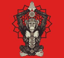 Chakra Monkey Tonight by ZugArt