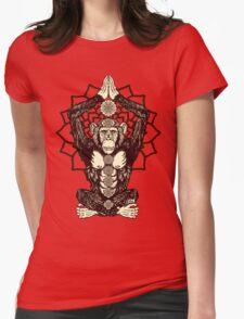 Chakra Monkey Tonight Womens Fitted T-Shirt
