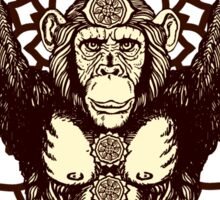 Chakra Monkey Tonight Sticker
