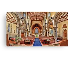St Mary Chilham Canvas Print