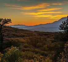 Mountain Sunrise by GeorgeBuxbaum
