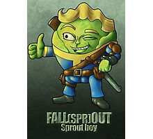 Fall(spr)out Sprout Boy  Photographic Print