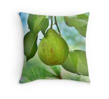 One Pear Throw Pillow