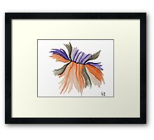 Only a kiss Framed Print