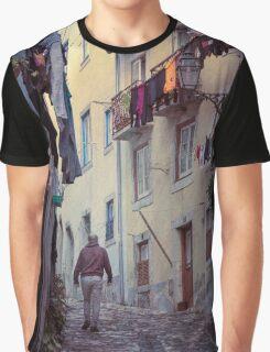 Alfama Life Lisbon Portugal Graphic T-Shirt
