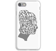 porcelain ivory steel iPhone Case/Skin