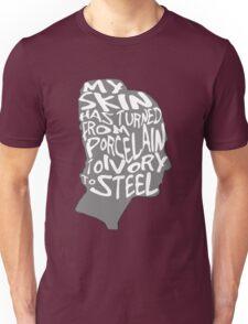 porcelain ivory steel Unisex T-Shirt